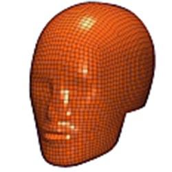 Kopfaufprall-Modelle